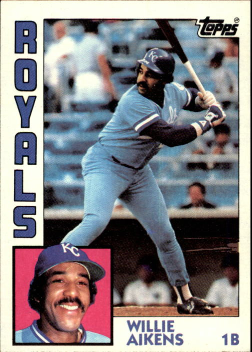 1984 Topps #685 Willie Aikens