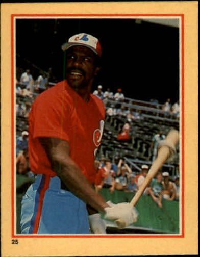 1984 Fleer Stickers #25 Andre Dawson