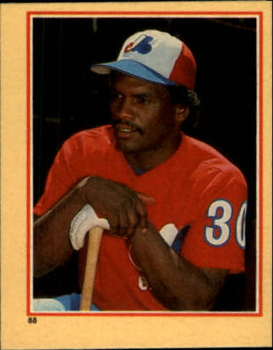 1984 Fleer Stickers #88 Tim Raines