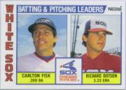 1984 Nestle 792 #216 White Sox TL/C.Fisk