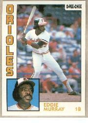 1984 O-Pee-Chee #240 Eddie Murray