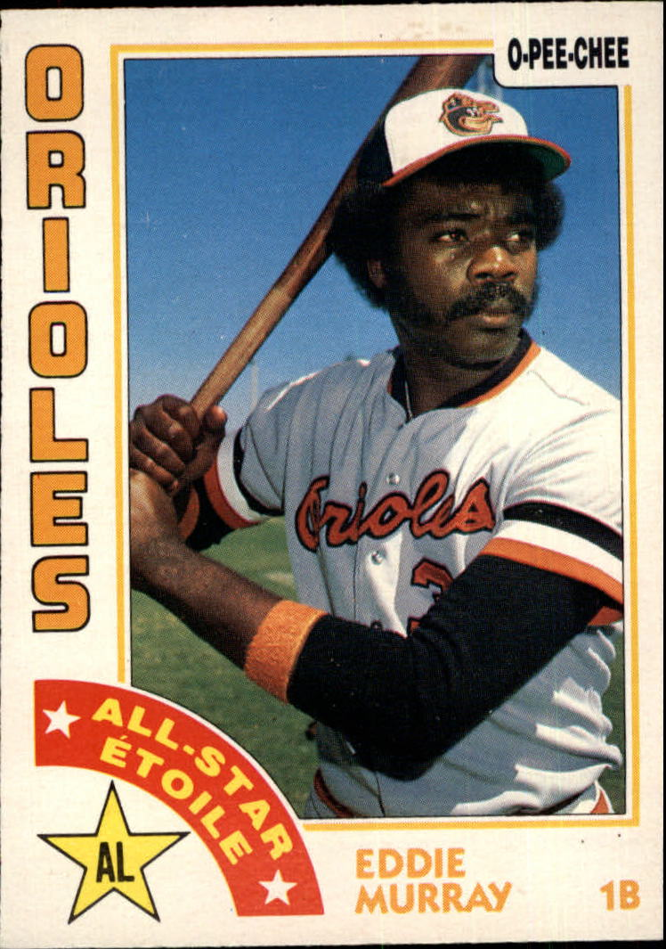 1984 O-Pee-Chee #291 Eddie Murray AS front image