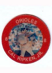 1984 Seven-Eleven Coins #E14 Cal Ripken