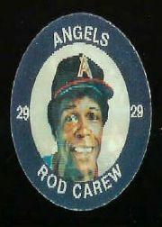 1984 Seven-Eleven Coins #W8 Rod Carew