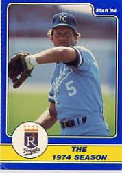 1984 Star Brett #6 George Brett/The 1974 Season