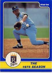 1984 Star Brett #7 George Brett/The 1975 Season