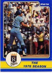 1984 Star Brett #10 George Brett/The 1978 Season