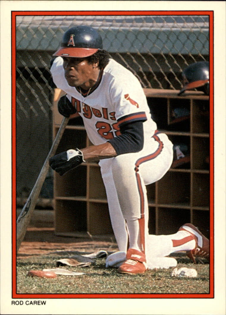 1984 Topps Glossy Send-Ins #26 Rod Carew