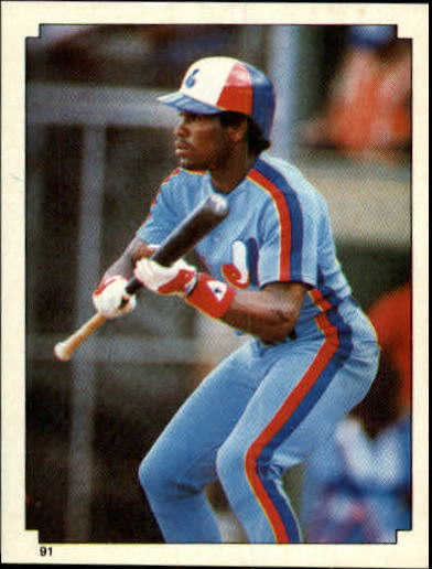 1984 Topps Stickers #91 Tim Raines