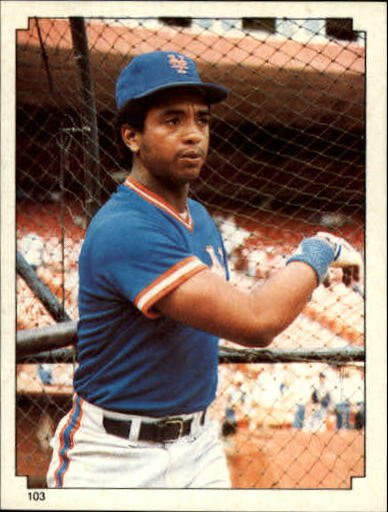 1984 Topps Stickers #103 Hubie Brooks