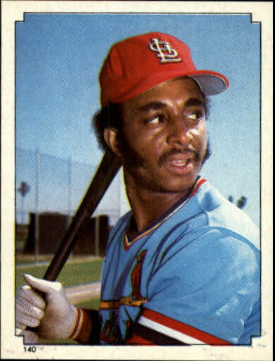 1984 Topps Stickers #140 Lonnie Smith