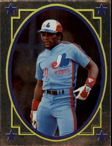 1984 Topps Stickers #179 Tim Raines FOIL