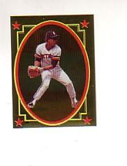 1984 Topps Stickers #196 Lou Whitaker FOIL