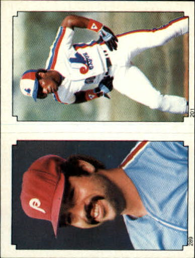 1984 Topps Stickers #201 Tim Raines (289)