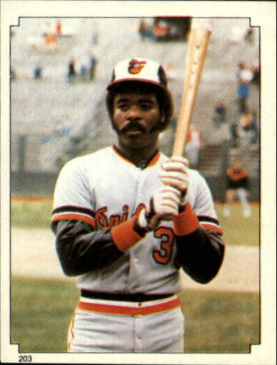 1984 Topps Stickers #203 Eddie Murray