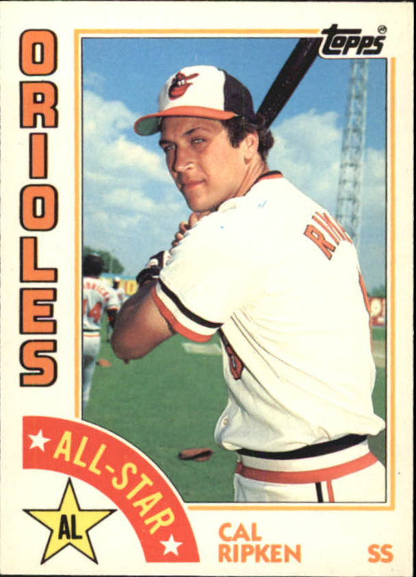 1984 Topps Tiffany #400 Cal Ripken AS