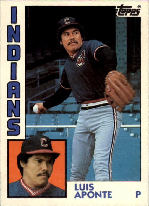 1984 Topps Traded #2T Luis Aponte