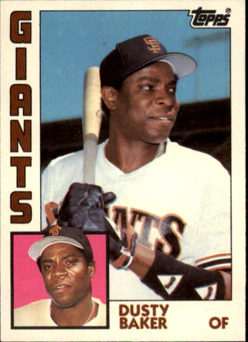 1984 Topps Traded #5T Dusty Baker