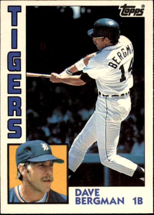 1984 Topps Traded #11T Dave Bergman