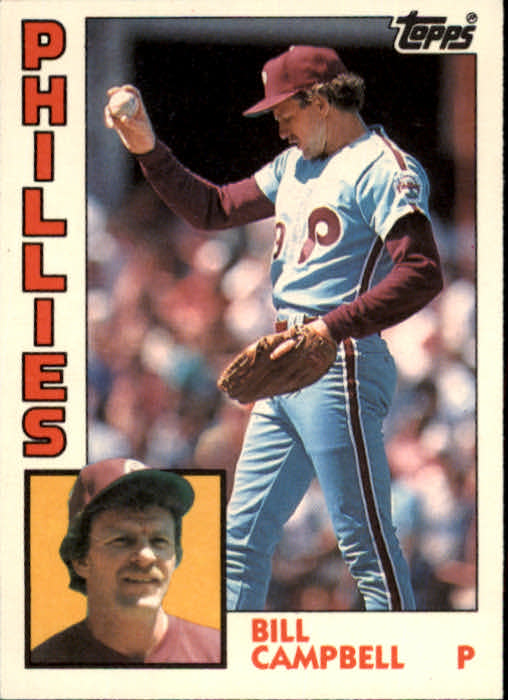 1984 Topps Traded #22T Bill Campbell front image