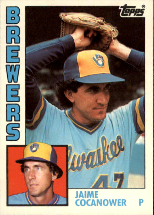 1984 Topps Traded #26T Jaime Cocanower XRC front image