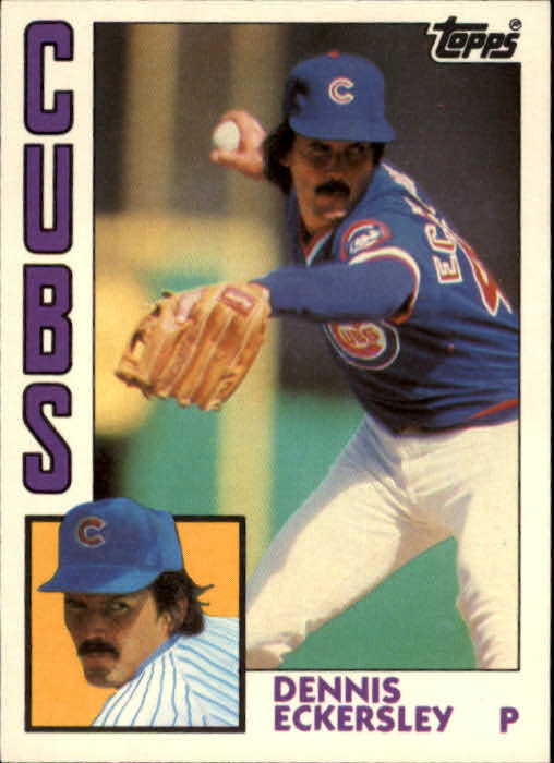 1984 Topps Traded #34T Dennis Eckersley
