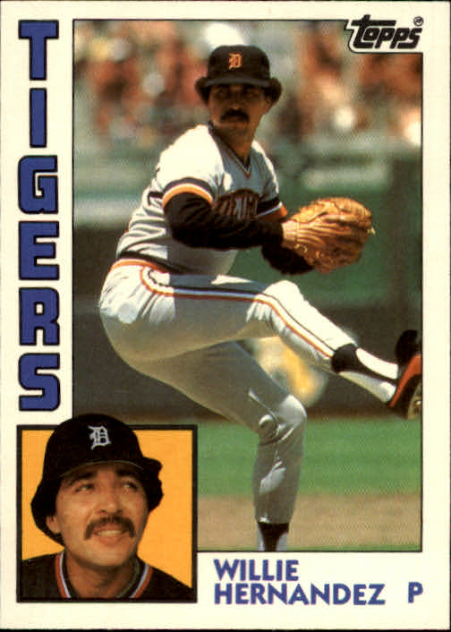 1984 Topps Traded #51T Willie Hernandez front image