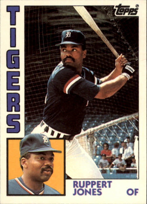 1984 Topps Traded #59T Ruppert Jones front image