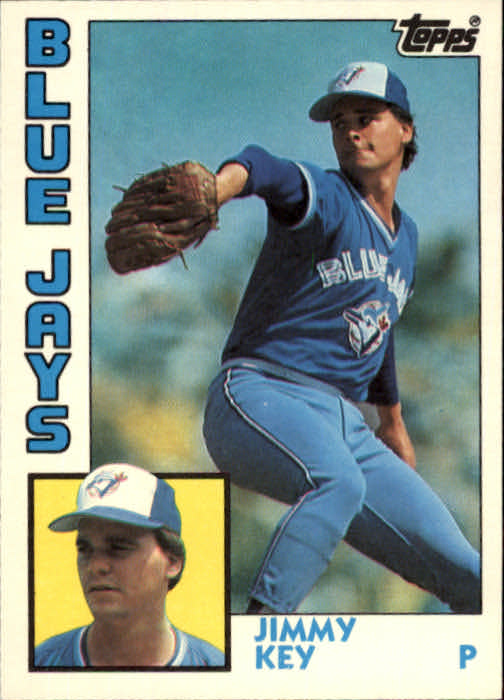 1984 Topps Traded #62T Jimmy Key XRC