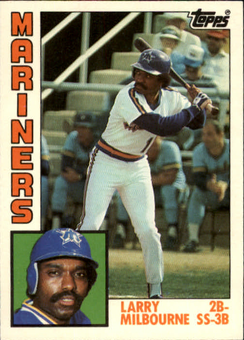 1984 Topps Traded #79T Larry Milbourne