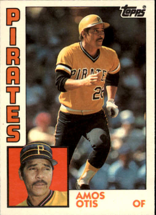 1984 Topps Traded #89T Amos Otis