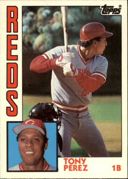 1984 Topps Traded #91T Tony Perez