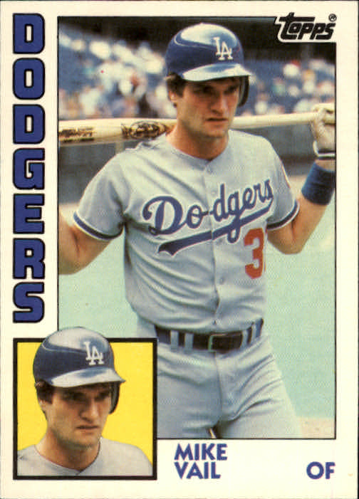 1984 Topps Traded #124T Mike Vail