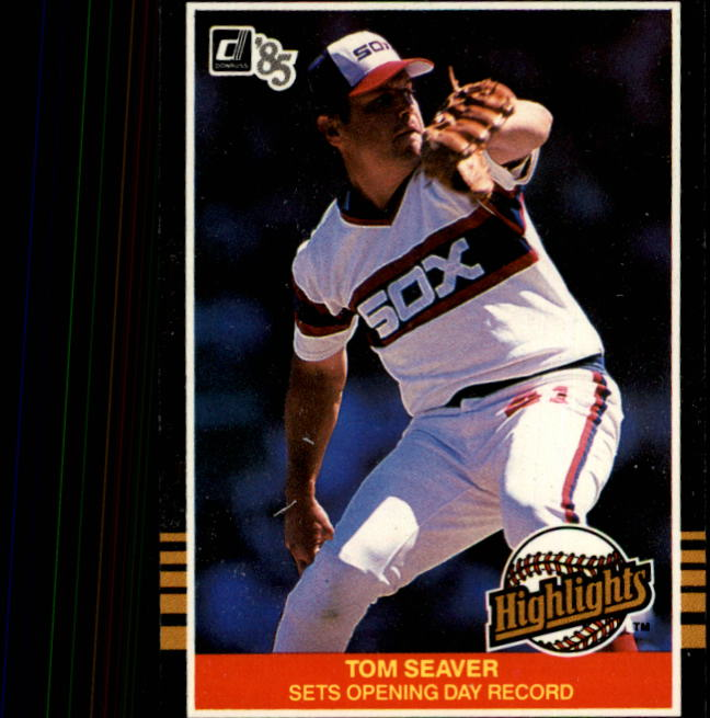 1985 Donruss Highlights #1 Tom Seaver