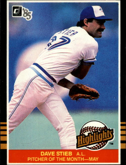 1985 Donruss Highlights #12 Dave Stieb