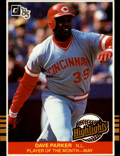 1985 Donruss Highlights #13 Dave Parker