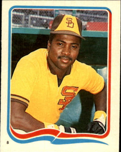 1985 Fleer Star Stickers #8 Tony Gwynn front image