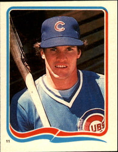 1985 Fleer Star Stickers #11 Ryne Sandberg