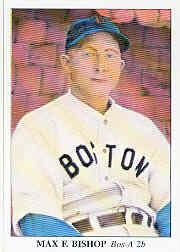 1985 Big League Collectibles 30s #7 Max Bishop