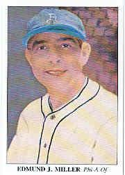 1985 Big League Collectibles 30s #29 Edmund Bing Miller