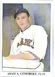 1985 Big League Collectibles 30s #42 Adam Comorsky front image