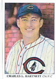 1985 Big League Collectibles 30s #52 Charles Gabby Hartnett