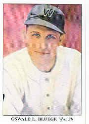1985 Big League Collectibles 30s #53 Ossie Bluege