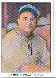 1985 Big League Collectibles 30s #61 Jimmie Foxx