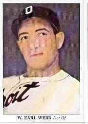 1985 Big League Collectibles 30s #73 Earl Webb