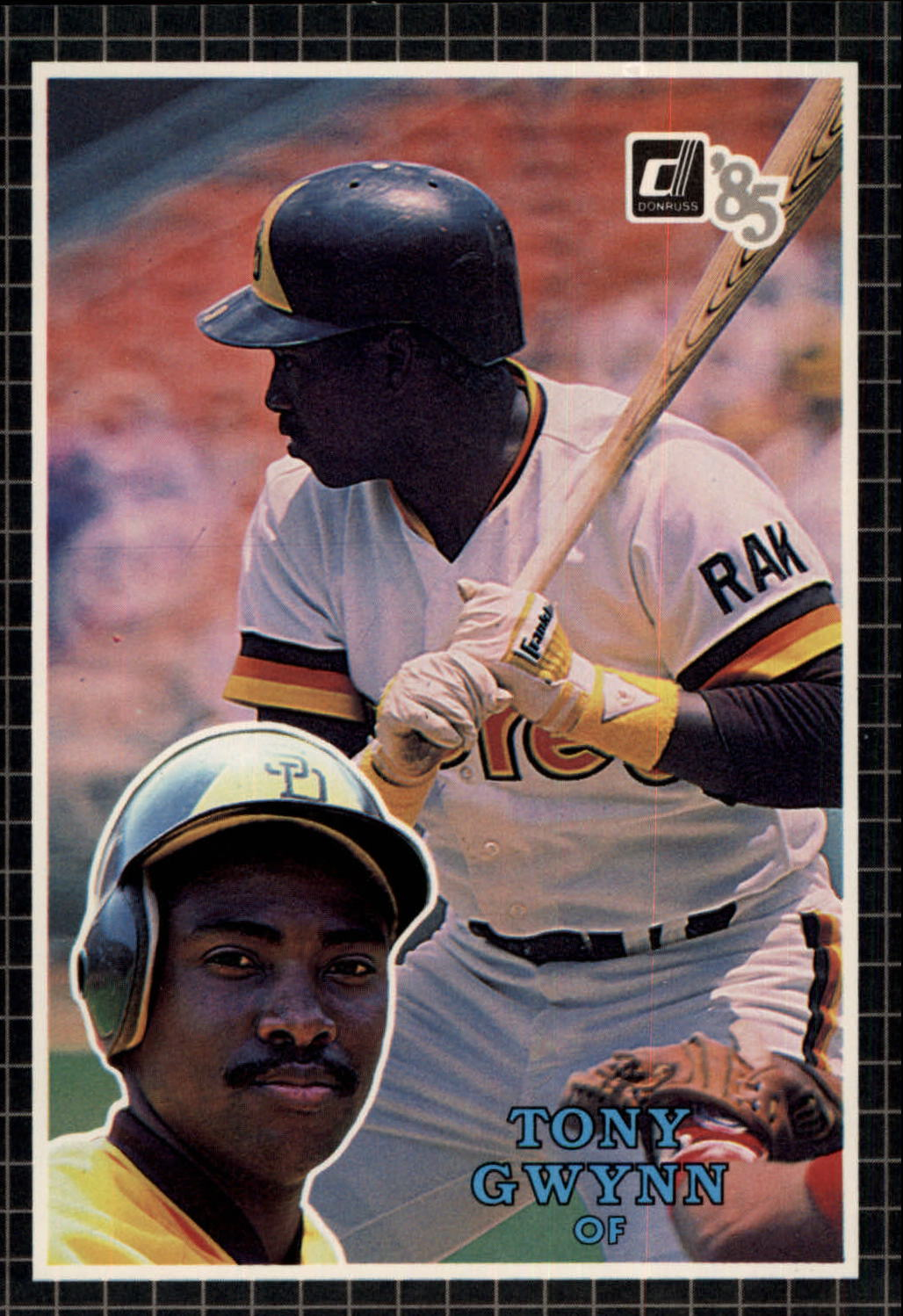 1985 Donruss Action All-Stars #19 Tony Gwynn