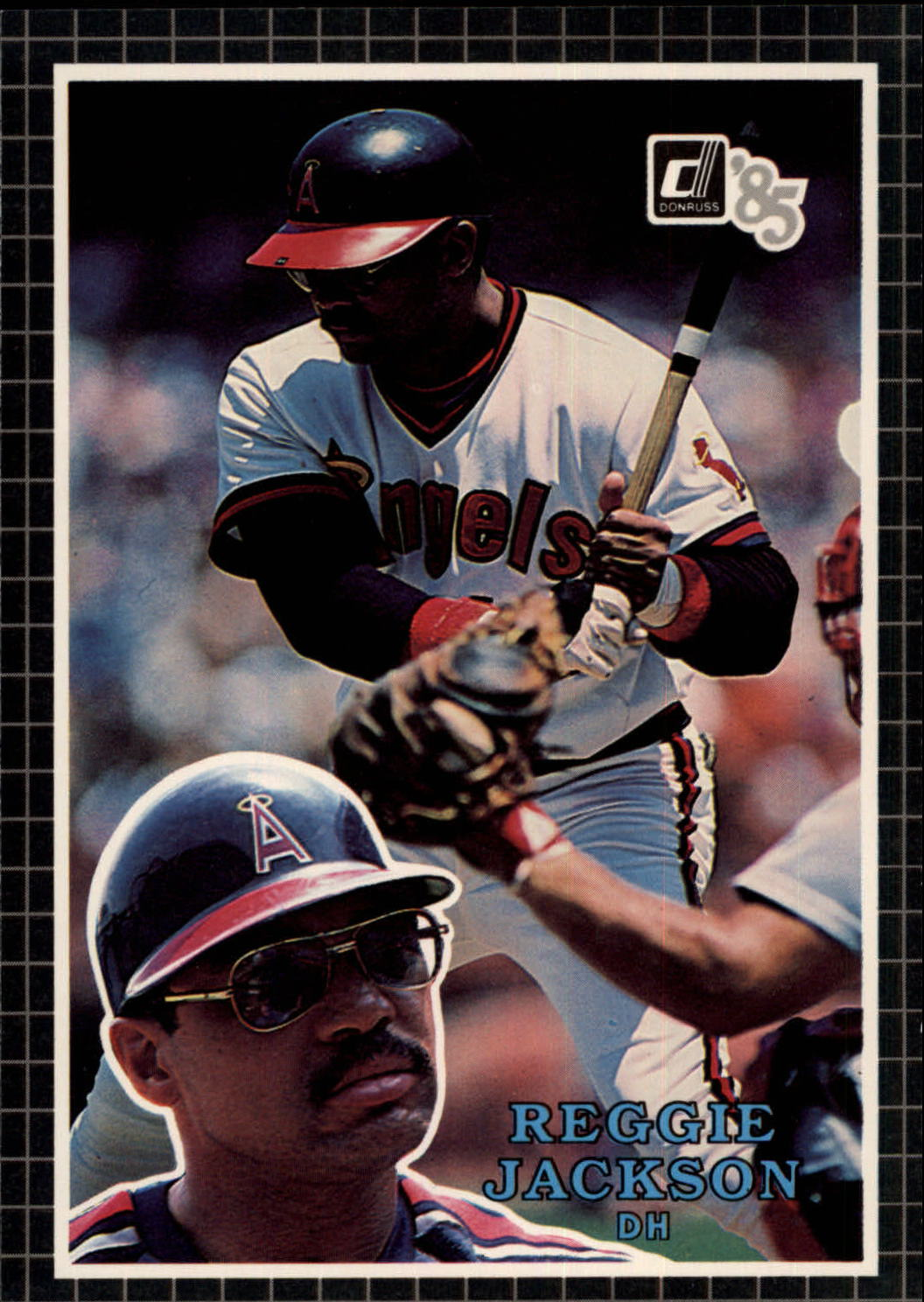 1985 Donruss Action All-Stars #39 Reggie Jackson
