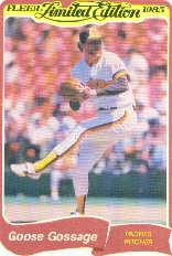 1985 Fleer Limited Edition #10 Rich Gossage