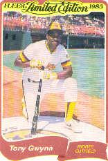 1985 Fleer Limited Edition #11 Tony Gwynn