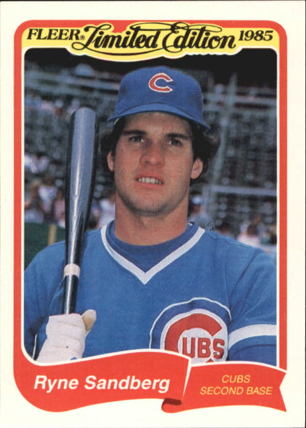 1985 Fleer Limited Edition #31 Ryne Sandberg